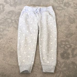 Old navy joggers with polka dots